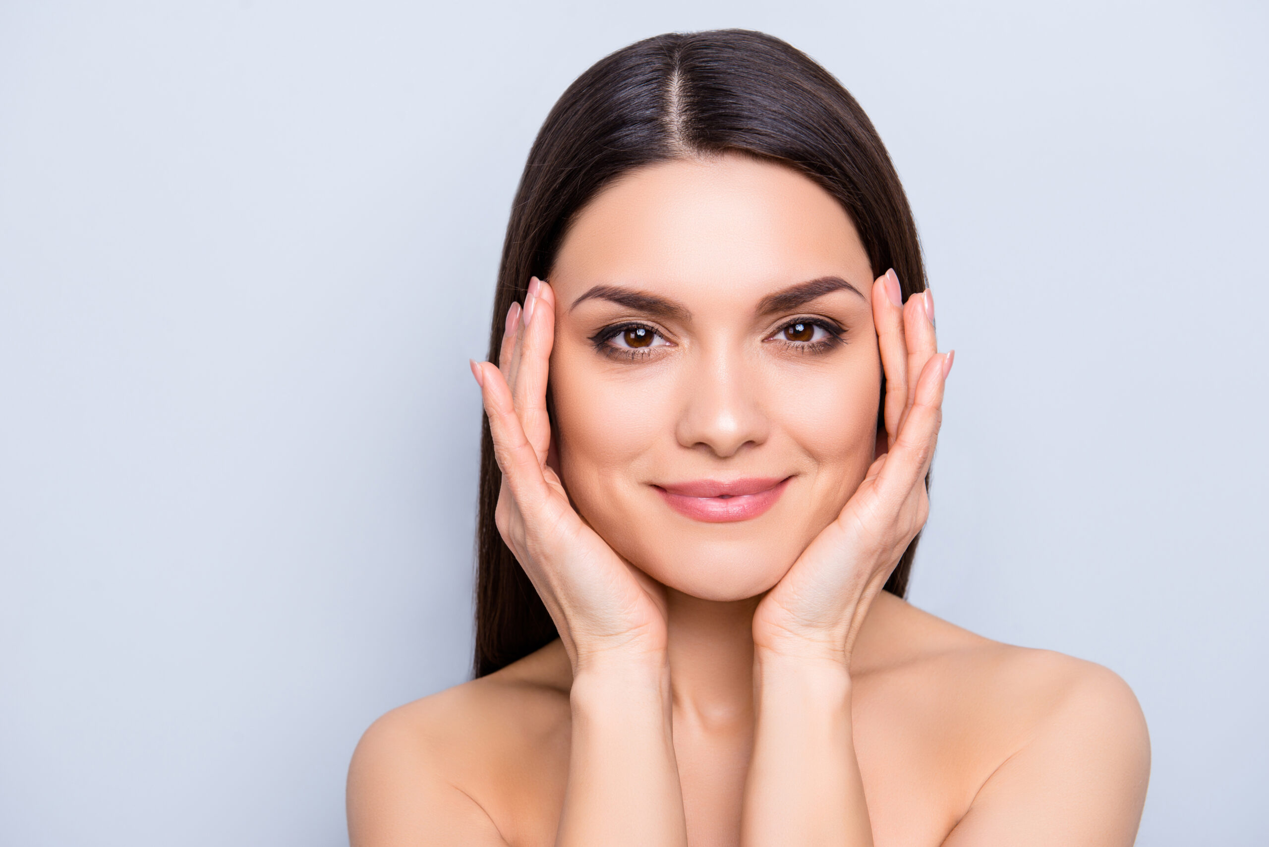 Woman With Smooth, Wrinkle Free Skin